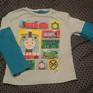4T Thomas and Friends long sleeve tshirt